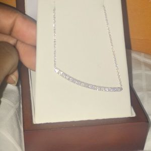 Beautiful 14k (white gold) Diamond necklace 😍😍